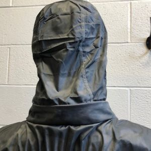 lululemon athletica Jackets & Coats - Lululemon gray zip up jacket w/ hidden hood sz 4